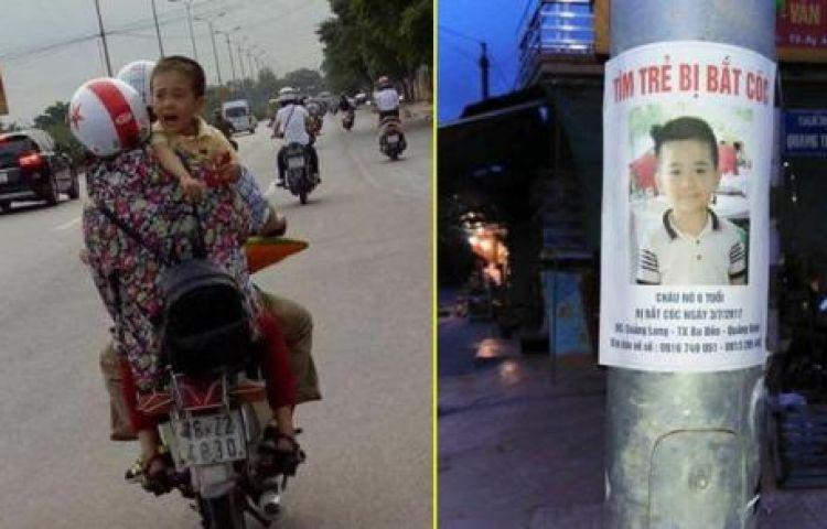 Truy tìm hình ảnh em bé khóc trên đường nghi là bé trai 6 tuổi mất tích bí ẩn ở Quảng Bình