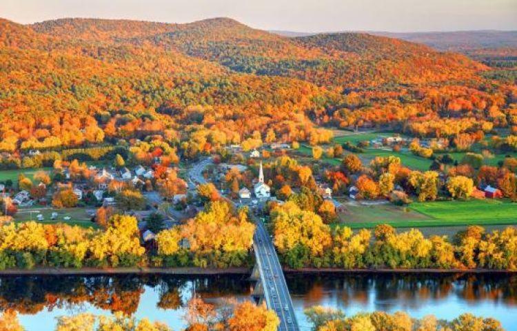 Khung cảnh mùa thu nước Mỹ