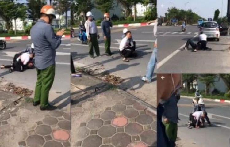 Đại úy công an đứng nhìn tài xế taxi khống chế cướp: Không chỉ là vô cảm