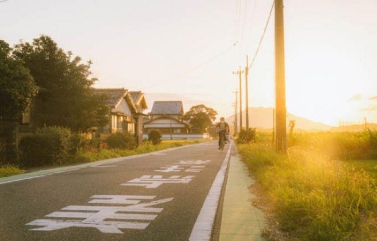Vẻ thanh bình của vùng đồng quê Nhật Bản